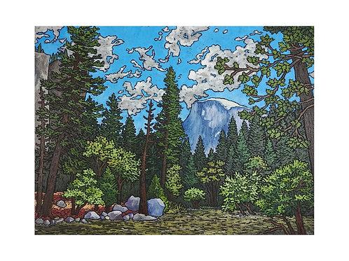 Art Card: Yosemite National Park