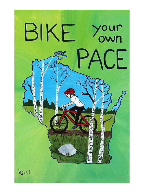 Art Card: Bike Your Own Pace