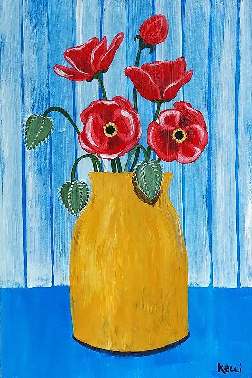 """""""Vase of Flowers 12"""""""