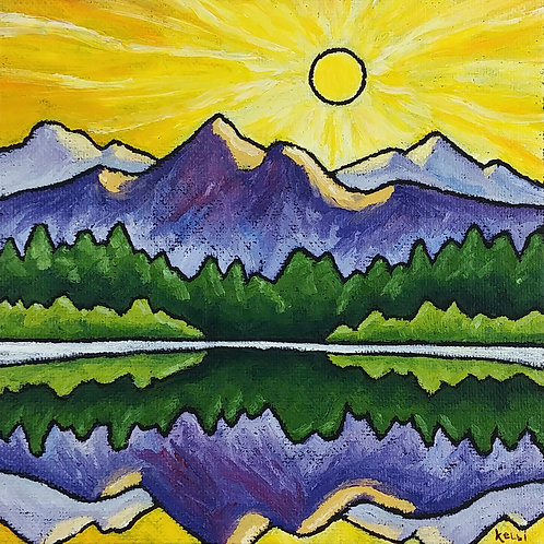 """Square Landscape #99"""