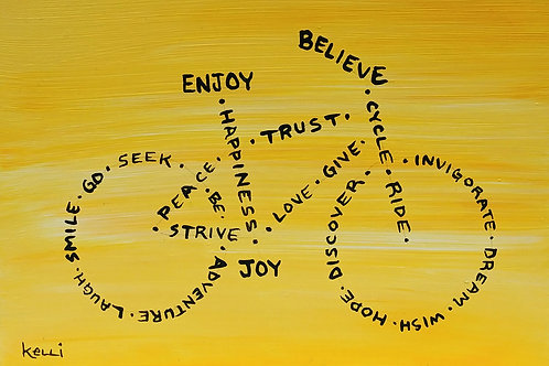 """Enjoy, Believe, Joy"""
