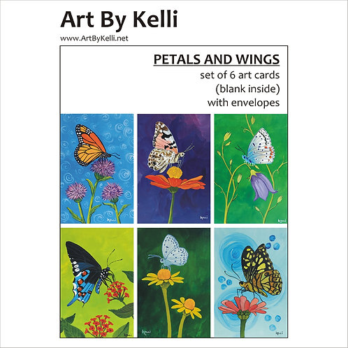 """Petals and Wings"" Art Cards Boxed Set"
