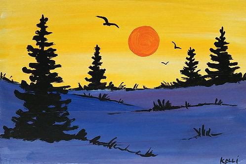 """""""Pine Landscape 8"""""""