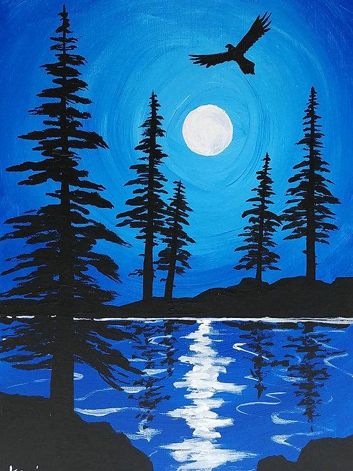 """""""Lake Reflections 25"""""""