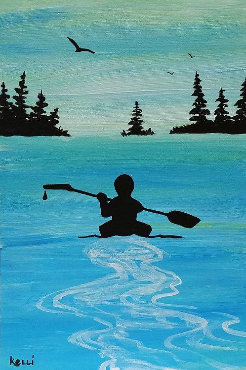 """""""Kayaking 12"""""""