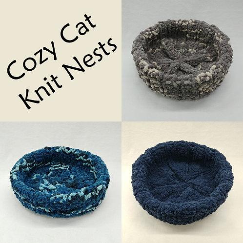 Cozy Cat Knit Nest
