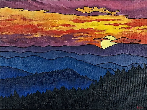 """Mountain Landscape 14"""