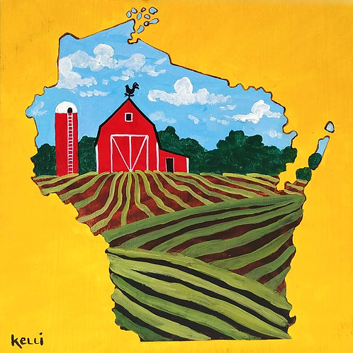 """""""Wisconsin Farm 38"""""""