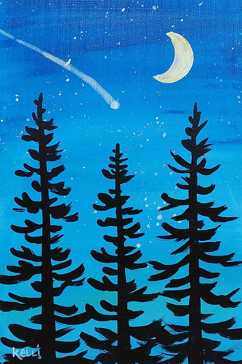"""Evening Pines 7"""