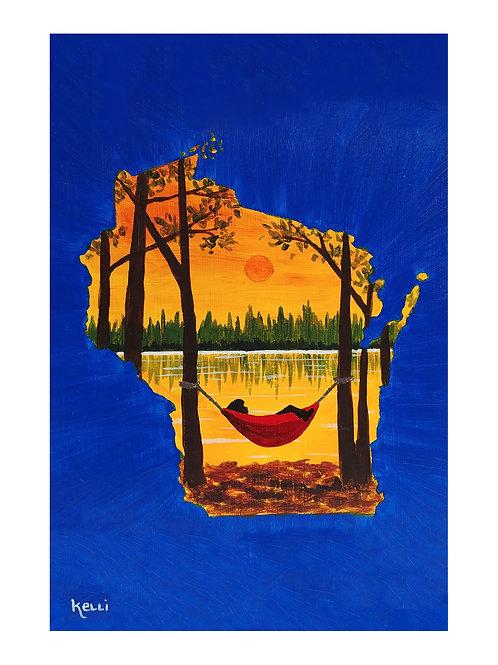 Art Card: Wisconsin Hammock