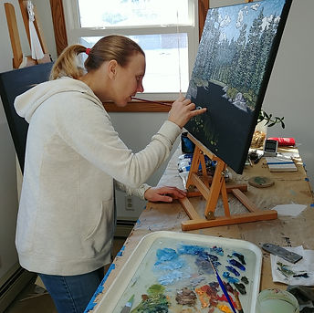 Kelli painting boundary waters.jpg