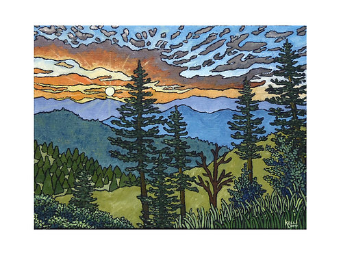 Art Card: Mountain Landscape 1