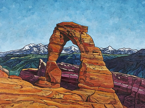 """""""Arches National Park: Delicate Arch"""""""