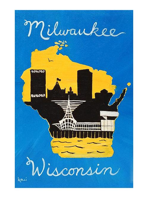 Art Card: Milwaukee WI