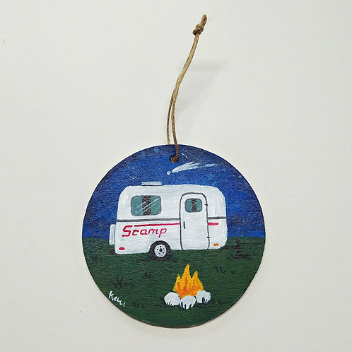 Hand-painted Ornament: Scamp