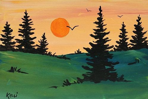 """""""Pine Landscape 11"""""""