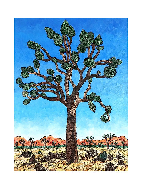 Art Card: Joshua Tree National Park