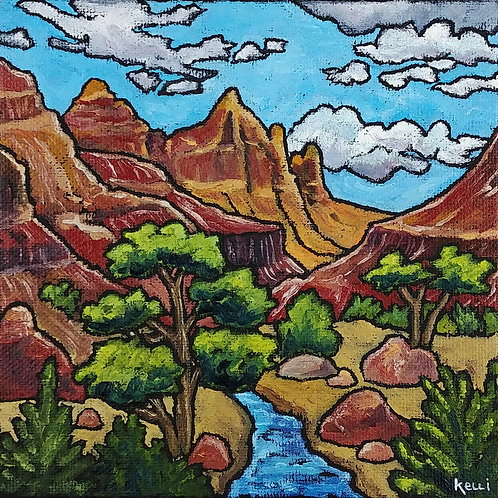 """Square Landscape #103"""