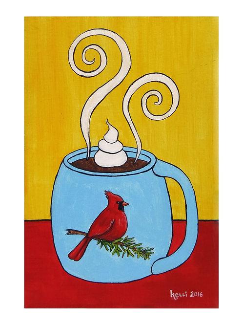 Art Card: Cardinal Mug