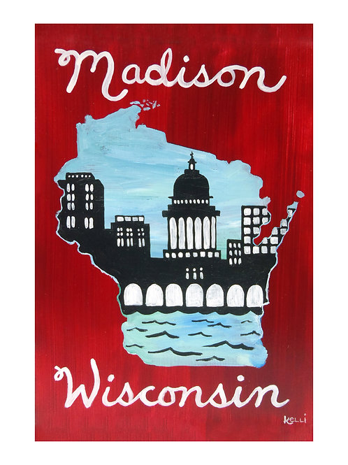 Art Card: Madison WI