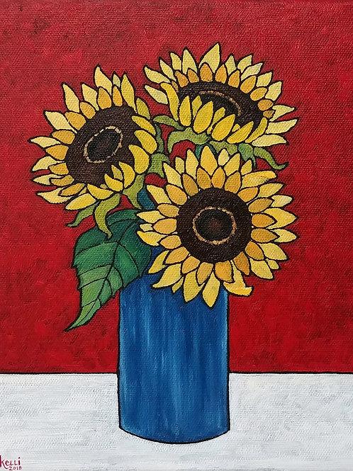 """Vase of Flowers O_4"""