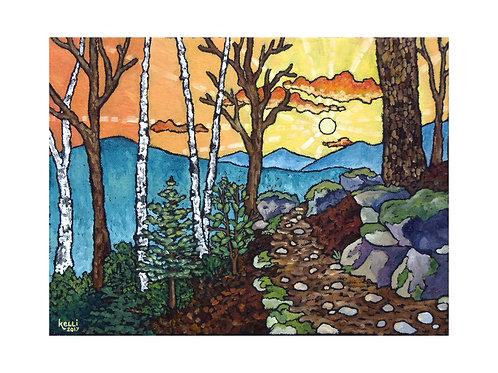Art Card: Mountain Landscape 3