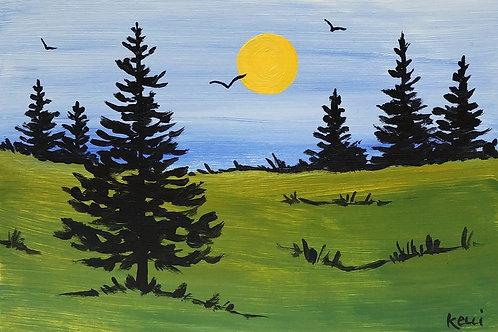 """""""Pine Landscape 7"""""""