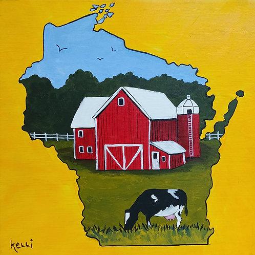 """""""Wisconsin Farm 40"""""""