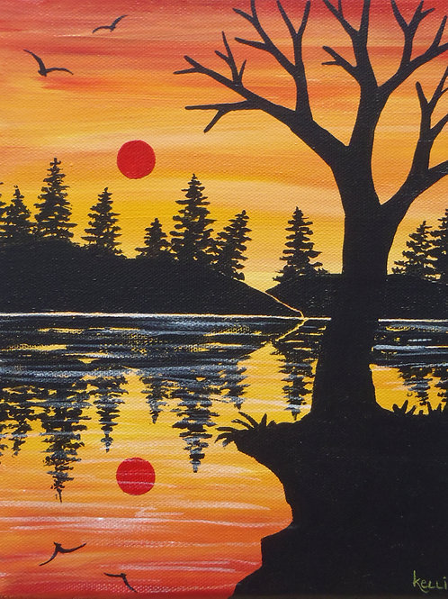 """""""Red Sun Reflections"""""""