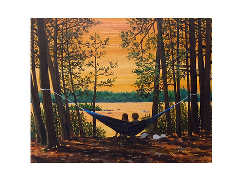 Art Card: View from the Hammock