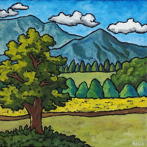 """Square Landscape #98"""