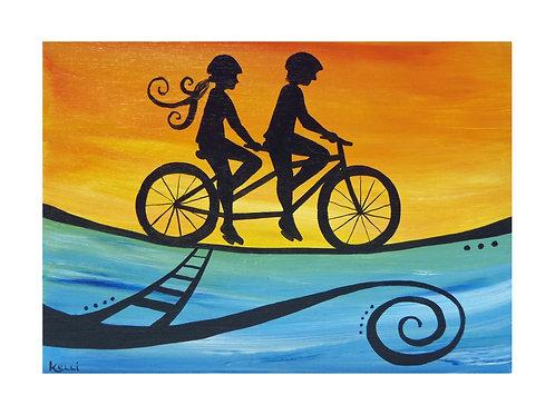 Art Card: Tandem Ride