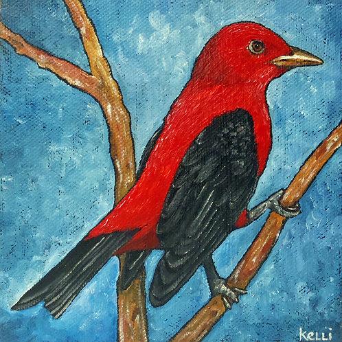 """Scarlet Tanager"""