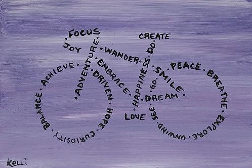 """Joy, Focus, Create, Love"""