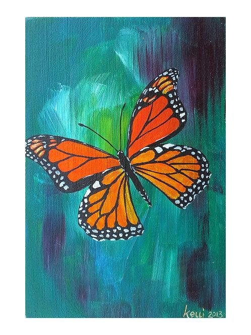 Art Card: Monarch Study
