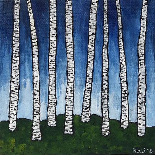 """""""Birch Series Blue 4"""""""