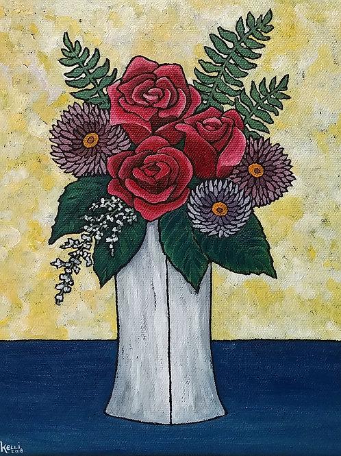 """Vase of Flowers O_3"""