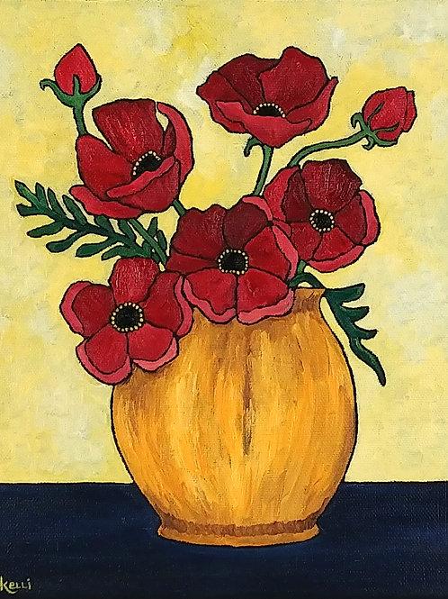 """Vase of Flowers O_8"""