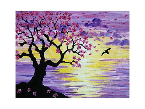 Art Card: Cherry Blossom