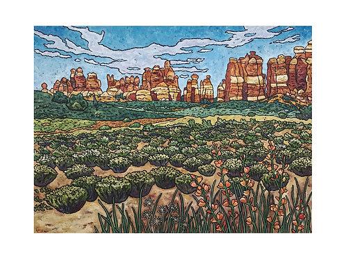 Art Card: Canyonlands National Park