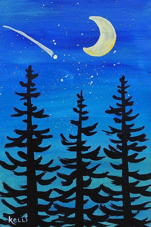 """Evening Pines 5"""
