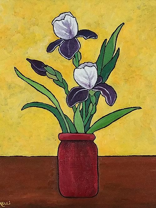 """Vase of Flowers O_7"""