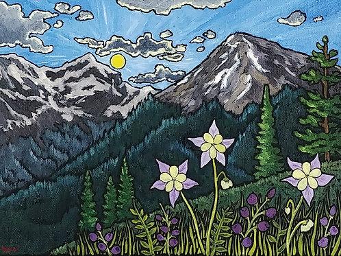 """Mountain Landscape 13"""