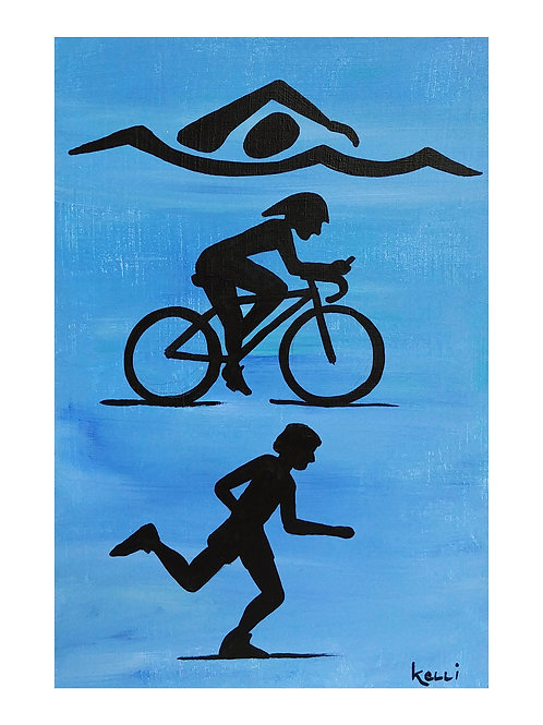 Art Card: Triathlon