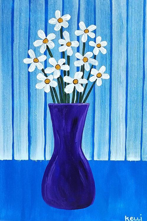 """""""Vase of Flowers 10"""""""