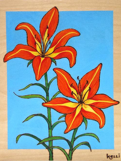 """Tiger Lilies Study"""