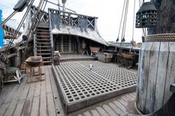 Da Vincis Demons Ship Deck
