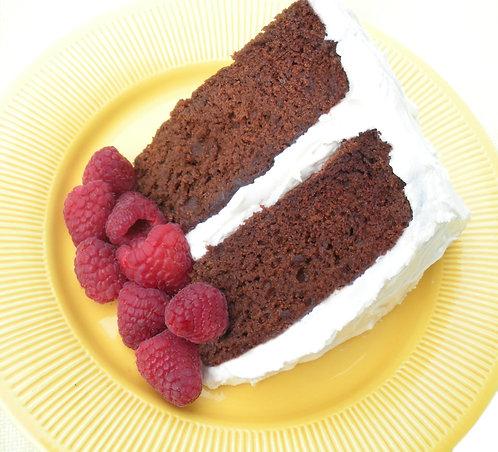 Chocolate Raspberry Style Cake