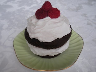 Raspberry Flavored Chocolate Cake
