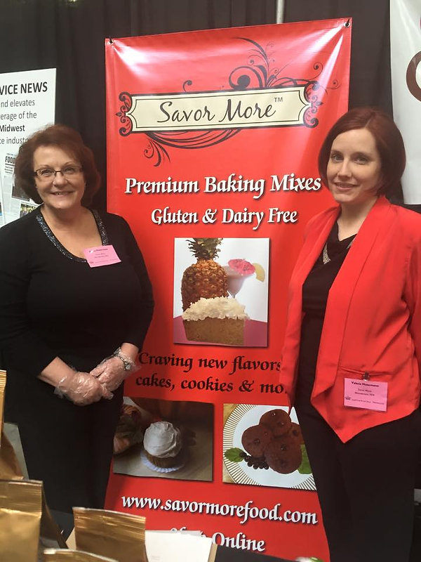 Sacor More Premium Baking Mixes. Gluten and Dairy Free
